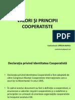Principii Si Valori Cooperatiste
