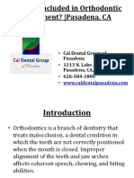 What is Included in Orthodontic Treatment - Pasadena, CA