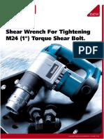 makita torque shear bolt for tightening