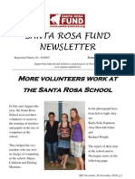 Santa Rosa Fund Newsletter Issue 36
