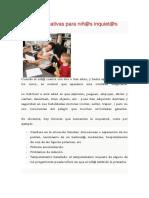 Pautas educativas 5