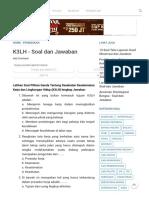 K3LH - Soal dan Jawaban - Url Soal