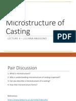 Lecture 4 Casting Microstructure(1)