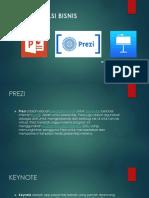 Teknik Presentasi Bisnis