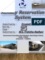 Railway Reservationdivyansh2