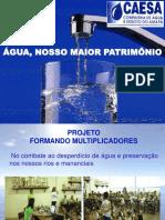 ÁGUA, NOSSO MAIOR PATRIMÔNIO