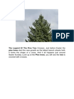 The Legend Of The Pine Tree Crosses