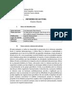 Informe Trejos Romero - América Latina