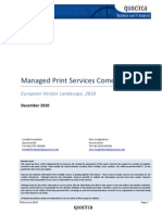 Managed Print Services Come of Age