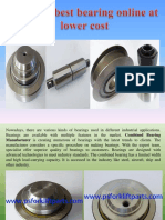 Find the Best Bearing Online at Lower Cost
