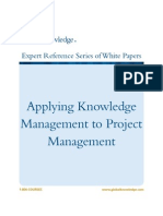 Applying Knowledge Management to Project Man