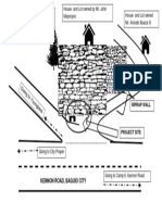sketch of project site