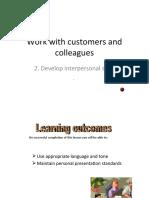 2. Interpersonal Skills