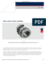Basic series - gear couplings