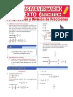 Multiplicación-y-División-de-Números-fraccionarios-para-Sexto-de-Primaria