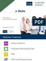 Delegation Skills Presentation