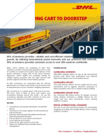 DHL eCommerce From Shopping Cart to Doorstep Brochure copy