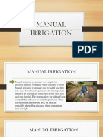 MANUAL IRRIGATION powerpoint