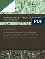PPT_Aula-02_Administrar em Tempos de Mudança