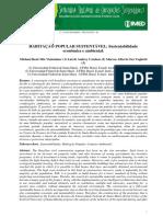 Habitação Popular Sustentável Sustentabilidade econômica e ambiental