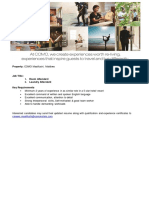 Job Advert - 14.10.2020