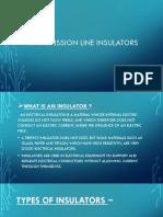 Transmission line insulators