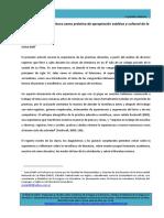 DAHL Jesica - Las consignas de escritura como práctica de apropiación estética y cultural de la literatura.pdf