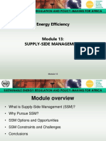Energy Efficiency - Module 13 Presentation
