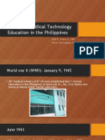 History of Medical Technology Education in the Philippines.pptx