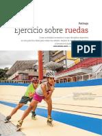 Patinaje Ejercicio Sobre Ruedas-Revista +Salud Locatel Nro. 56