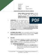 Habeas Corpus - Percy Coronado - Caso Fabiola - Aplicacion Del Tipo Penal