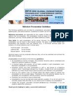 GHTC2014-Slideshow-Presentation-Guideline