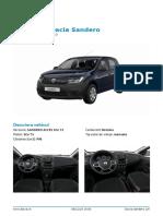 configurare Dacia Sandero