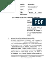 Recurso de Agravio Constitucional 5 - Percy Jesus Coronado Canchan - Correctivo