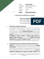Recurso de Apelacion de Auto - Percy Jesus Coronado Canchan 2