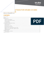 AOS-CX VSF Best Practices