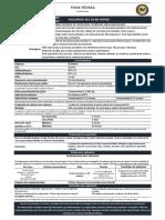 Ft - 301-000 - Falcopoxi 301 Hs Br Verniz