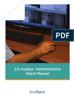 AvaSys_Admin_Manual