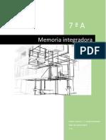 memoria integradora