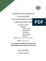 DISEÑO DE SISTEMAS DE CONTROL POR RETROALIMENTACION CON UN SOLO CIRCUITO 1