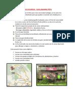 CIUDADES ECOLOGICAS DEL PERU
