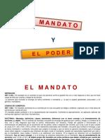 MANDATO - PODER