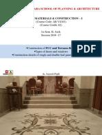 BMC 1 - Flooring (Terrazo + PCC) And Door & Windows