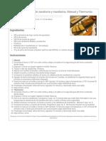 Bizcocho esponjoso de zanahoria y mandarina. Manual y Thermomix.pdf