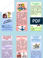 TRIFOLIAR ACCIDENTES DE TRÁNSITO