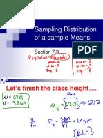 Lesson 2 - Central Limit Theorem