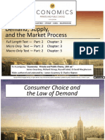 Demand_Supply and the Market Process