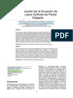 Calibración Coeficientes de Orificios Pared Delgada_01 (1)