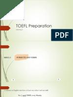 TOEFL Meeting 5