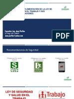 MODULO 1- Interpretación e Implementación de Ley de Seuridad y Salud en el Trabajo